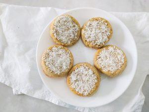 Receta de polvorones sin azúcar